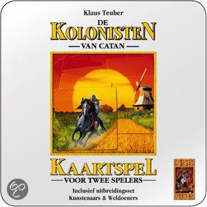 Afbeelding van het spel Kolonisten Van Catan - Kaartspel Jubileumtin