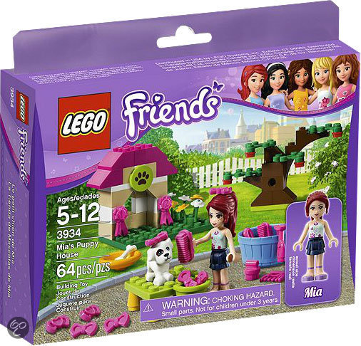 LEGO Friends Mia's Puppiehuis - 3934