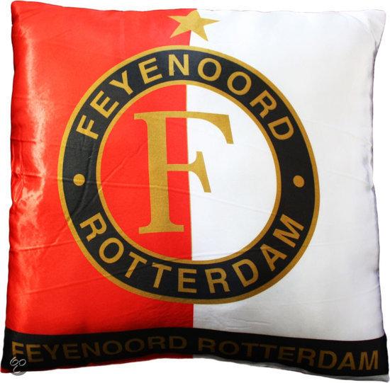 bol com   Feyenoord Kussen   Logo   Zwart