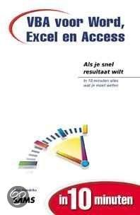 Vba Voor Word, Excel En Access