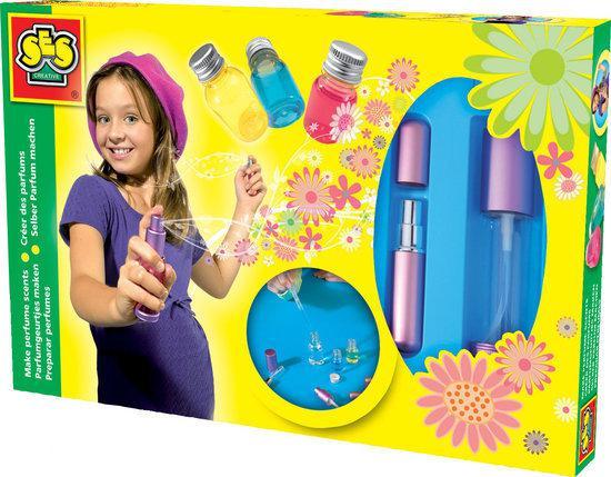 speelgoed zelf parfum maken