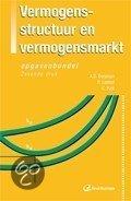 Vermogensstructuur En Vermogensmarkt / Opgavenbundel