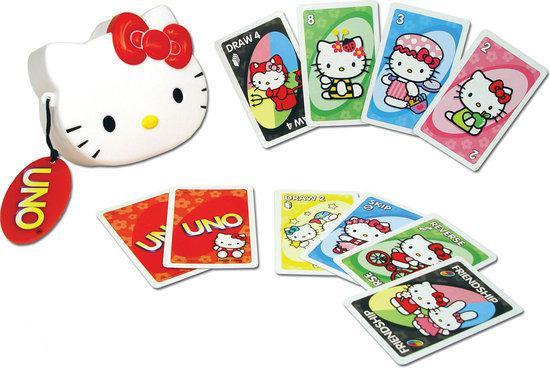 Afbeelding van het spel Hello Kitty Uno