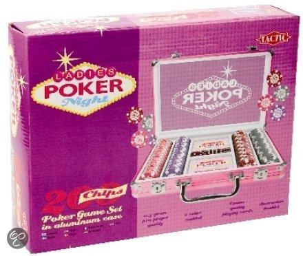 Afbeelding van het spel Ladies Poker Night Case met 200 Chips