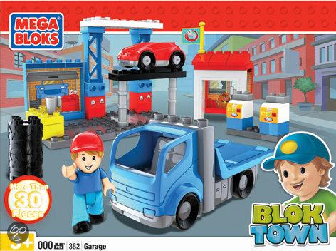 Mega Bloks - Blok Town Garage - Constructiespeelgoed