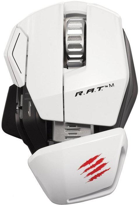 Madcatz Mobile R.A.T. M  Draadloze Muis Wit PC + MAC + Mobile