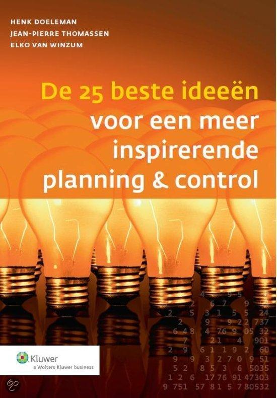 De 25 beste ideeen voor een meer inspirerende planning & control