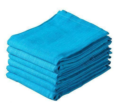 Jollein - Hydrofiele Luier 6 stuks - Turquoise