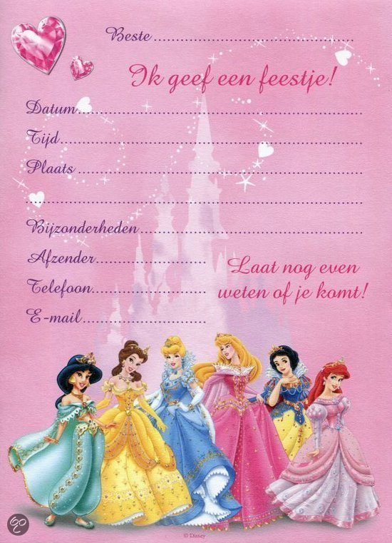Disney Princess Party Invitations was awesome invitation ideas