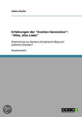 Erfahrungen Der  Zweiten Generation