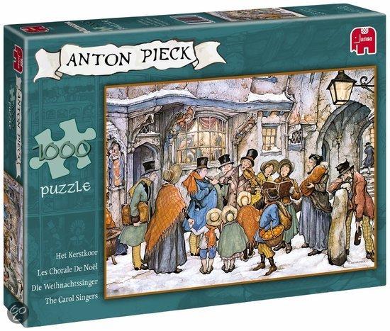 Anton Pieck Het Kerstkoor - Puzzel - 1000 stukjes