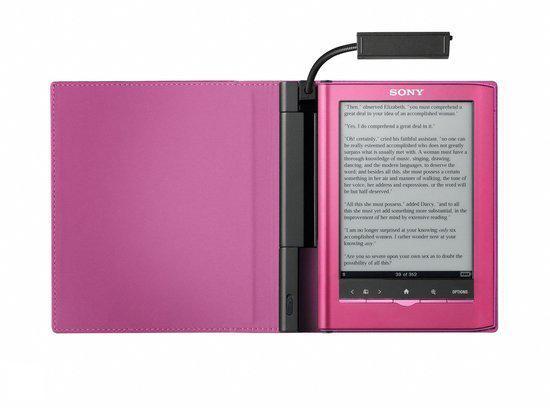 Sony Reader Pocket LED cover met lampje (PRSACL35P) - Roze