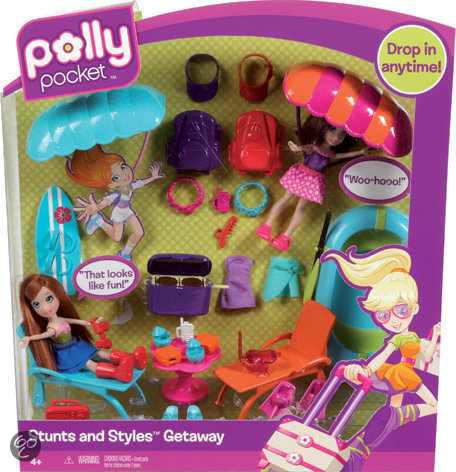 Polly Pocket Stunts 'n Styles Accessoires