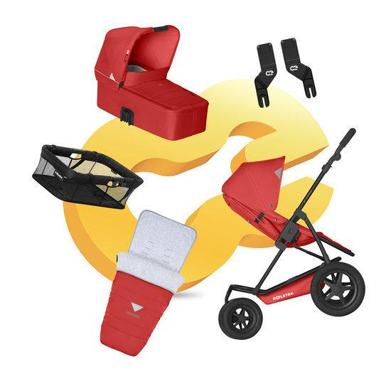 Koelstra Mambo Daily PACK - Kinderwagen Compleet - Rood