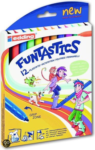 Edding Funtastics 12 Dunne Stiften