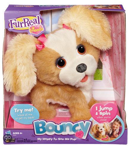 Fur Real Friends Bouncy Mijn blije Huppelhondje