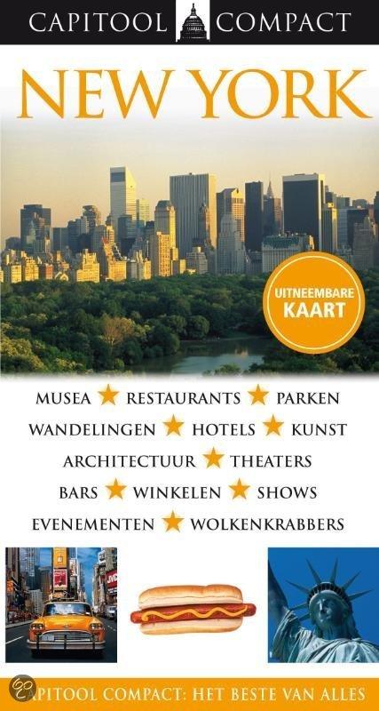Capitool Compact New York + Uitvouwkaart & Metrokaart / Druk Heruitgave