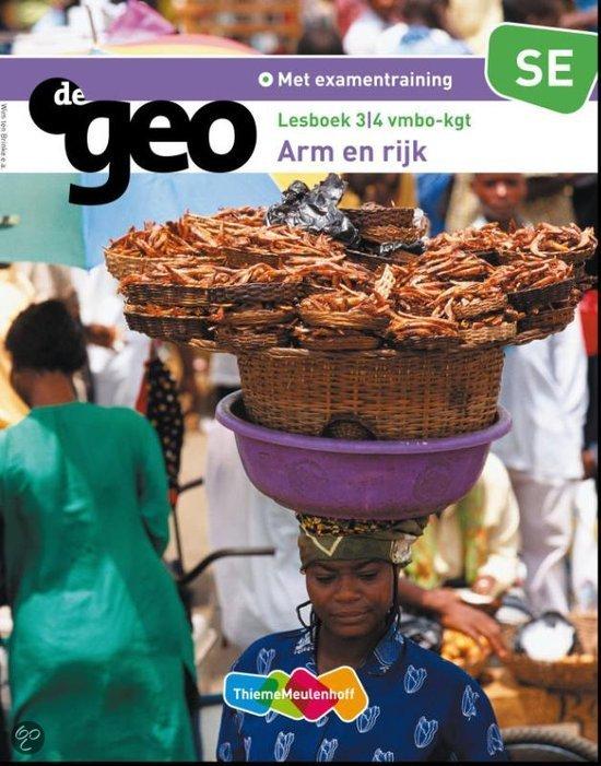 De Geo / 3/4 vmbo kgt SE Arm en Rijk / deel Lesboek