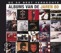 De 50 best verkochte albums van de jaren 80