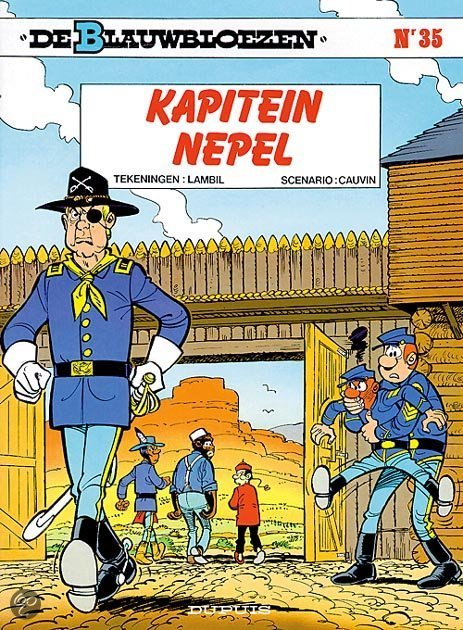 De Blauwbloezen: 035 Kapitein Nepel