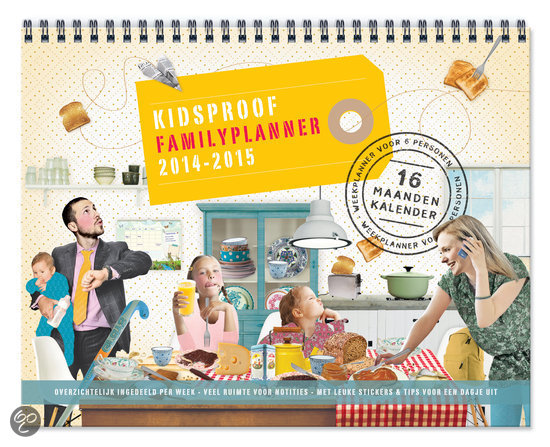 Kidsproof family planner / 2014/2015