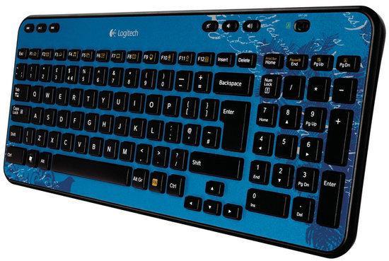 Logitech Wireless Keyboard K360 - Blauw