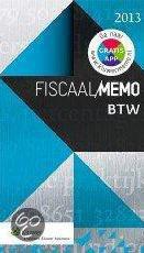 Fiscaal memo BTW / 2013