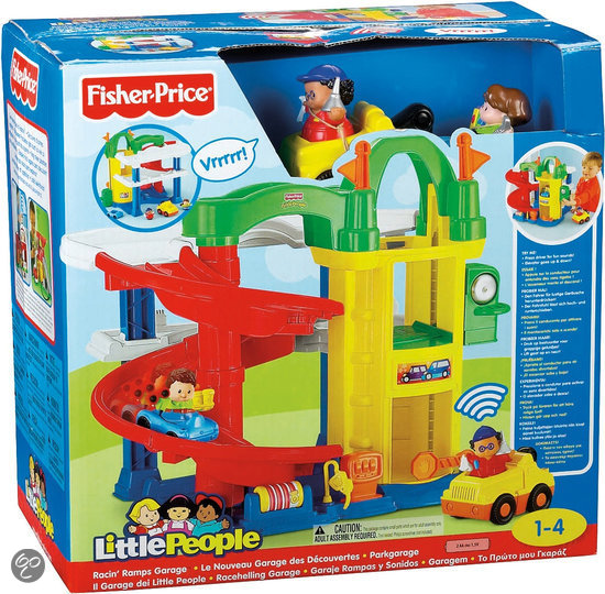 fisher price little people parkeergarage mattel. Black Bedroom Furniture Sets. Home Design Ideas
