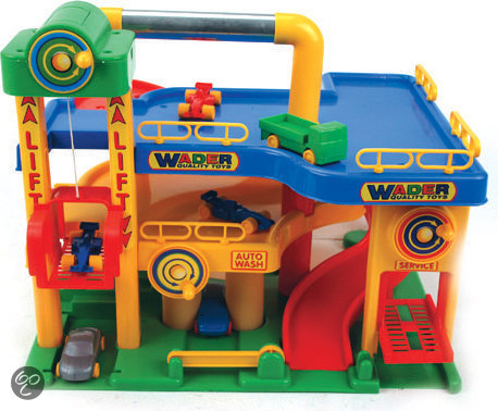 Wader quality toys garage wader quality toys for Garage auto 7