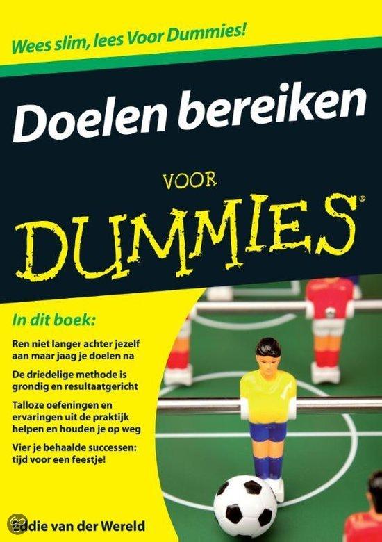 Doelen bereiken voor Dummies
