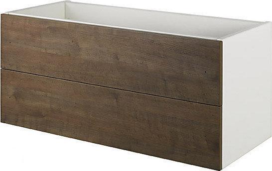 Haceka kosmos mezzo kosmos mezzo gr eik onderkast 2lade 90cm - Muurbekleding houten badkamer ...