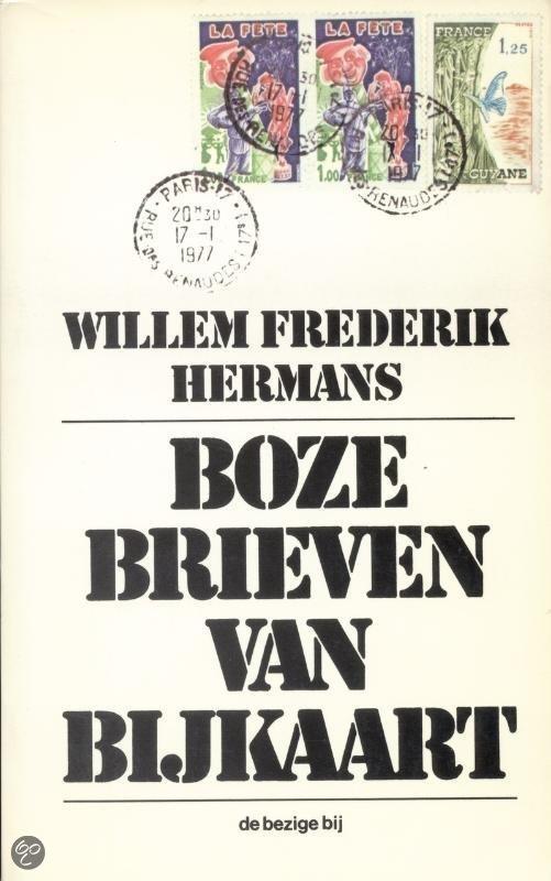 Willem-Frederik-Hermans-Boze-brieven-van-bijkaart