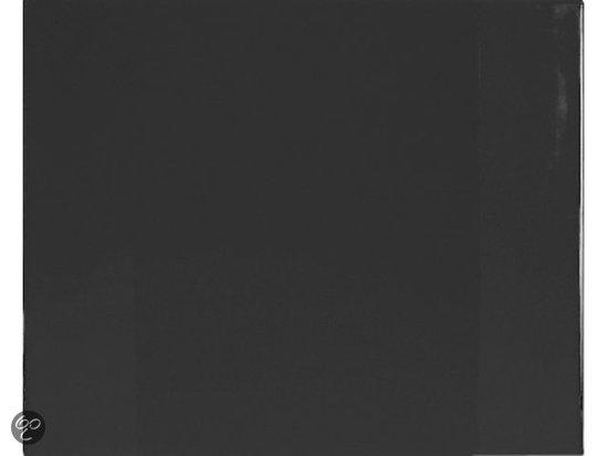 Bureauonderlegger 630x500mm Soft Zwart