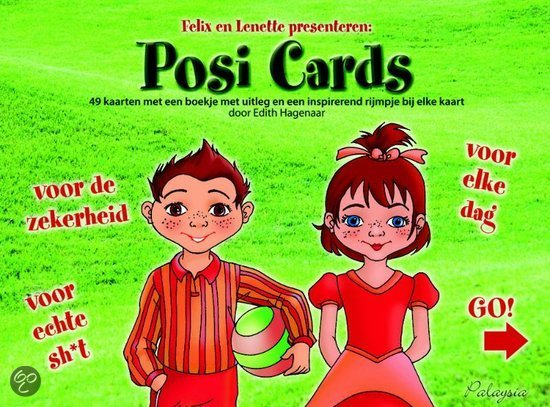 Posi cards + boek
