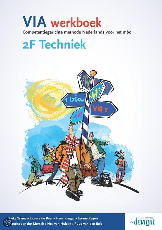 VIA / 2F Techniek / deel Werkboek
