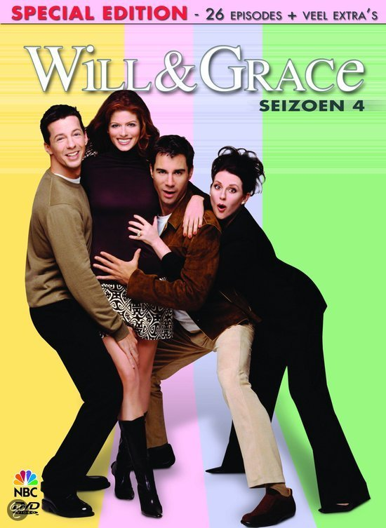 Will & Grace - Seizoen 4 (4DVD)