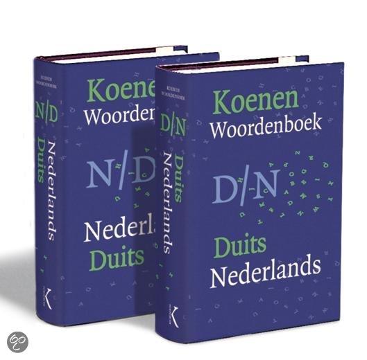 Koenen woordenboek Duits-Nederlands