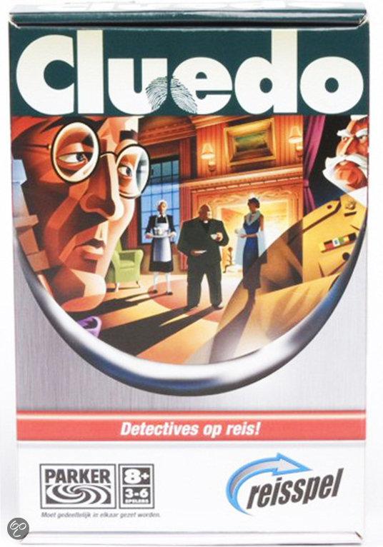 Afbeelding van het spel Cluedo Reisvariant