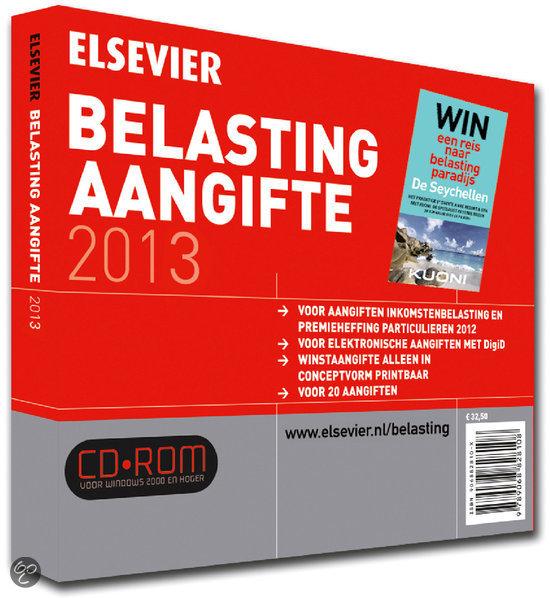 Elsevier belasting aangifte / 2013