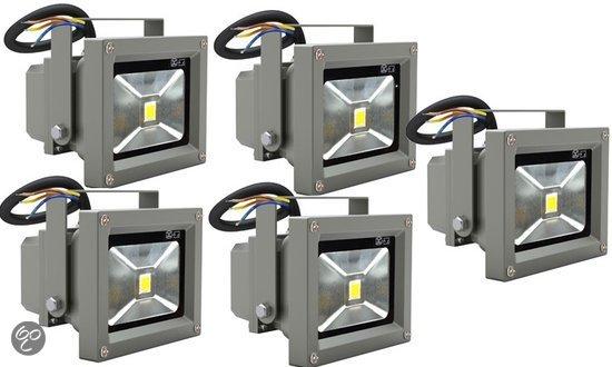 bol.com | vidaXL Bouwlamp LED Bouwlamp 10 Watt (5 stuks) 50059