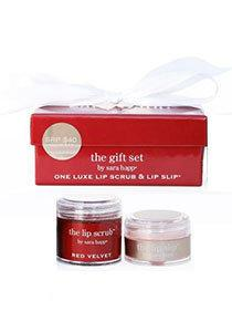 Sara Happ Lipgloss Sara Happ The Lip Slip &: Red Velvet Lip Scrub Gift Set