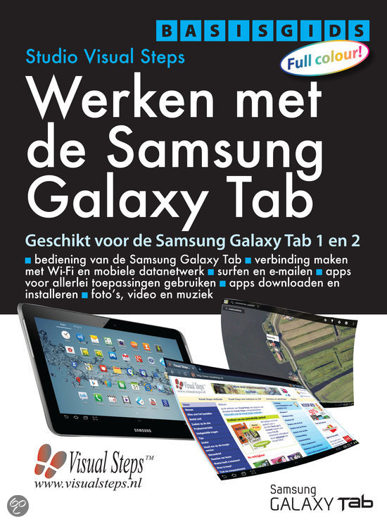 Basisgids Werken met de Samsung Galaxy tab