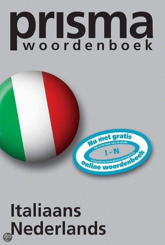 Prisma woordenboek Italiaans - Nederlands