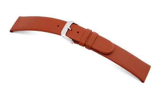 Rios1931 Horlogeband -  Classic Cognac - Leer - 18 mm
