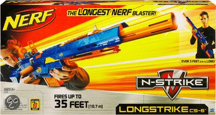 Nerf N-Strike LongStrike CS-6 - Blaster