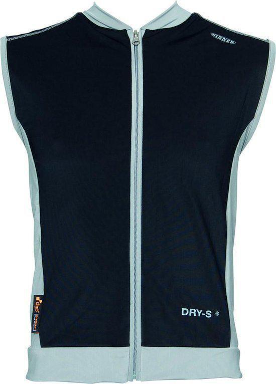 Sinner Castor Vest Protector D30 - M/L - Zwart