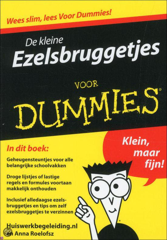 De kleine Ezelsbruggetjes voor Dummies