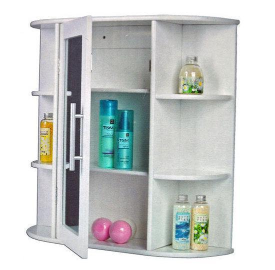 bol | dsm badkamerspiegel badkamerkast met spiegeldeur, Badkamer