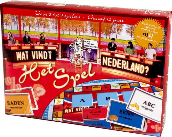 Afbeelding van het spel Wat vindt Nederland Het Spel