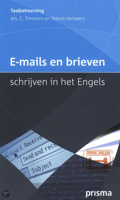 E-Mails En Brieven Schrijven In Het Engels / Druk Heruitgave